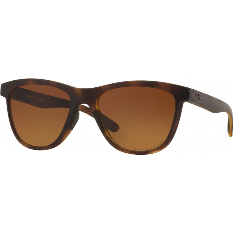 81dcd3ba117 Oakley OO9320-04 Moonlighter Brown Tortoiseshell - Brown Gradient Polarized  Sunglasses