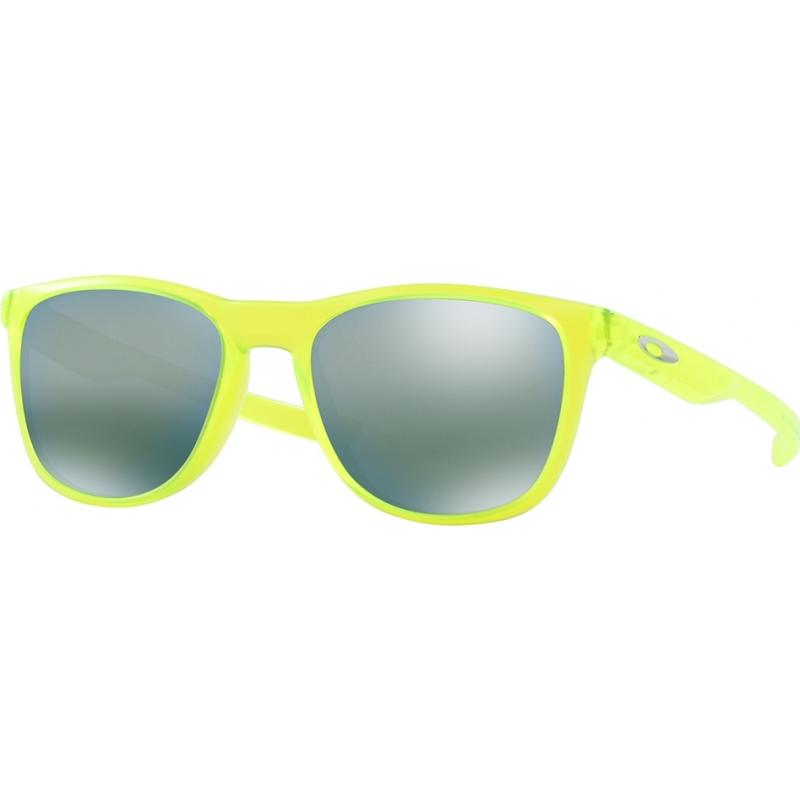 7385022c35 Oakley OO9340-07 OO9340-07 Trillbe X Matte Uranium - Emerald Iridium  Sunglasses