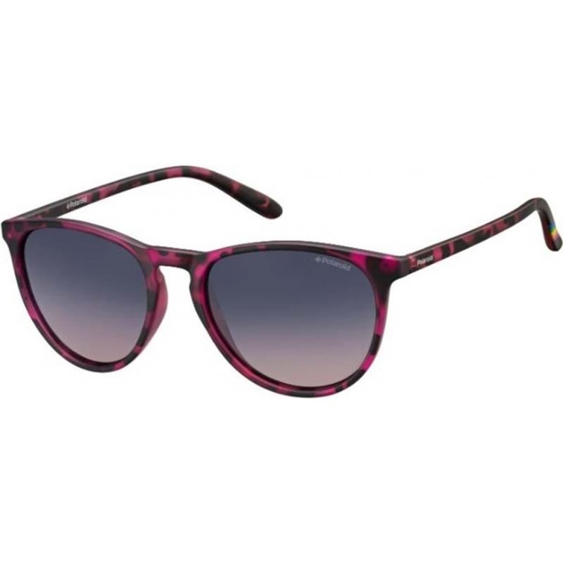 Polaroid PLD6003-N-SRR-Q2-54 lunettes de soleil Pld6003-n SRR q2 havana fuchsia polarisées
