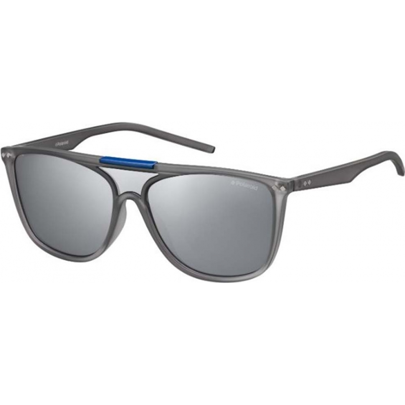 Polaroid PLD6024-S-TJD-JB-99 Pld6024-s tjd jb szary srebrny lustro spolaryzowane okulary