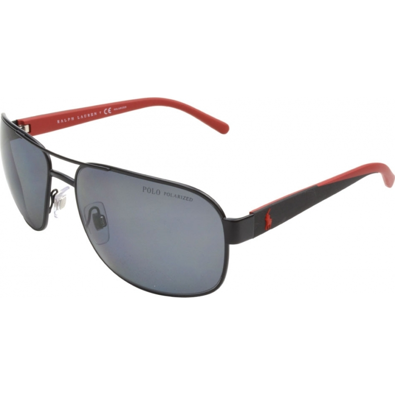 b0cfde539acc Polo Ralph Lauren PH3093 62 Casual Living Matt Black 927781 Polarized  Sunglasses
