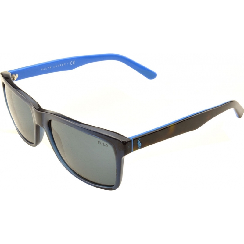 c41248b44301 Polo Ralph Lauren PH4098 57 Casual Living Transparent Blue 556387 Sunglasses
