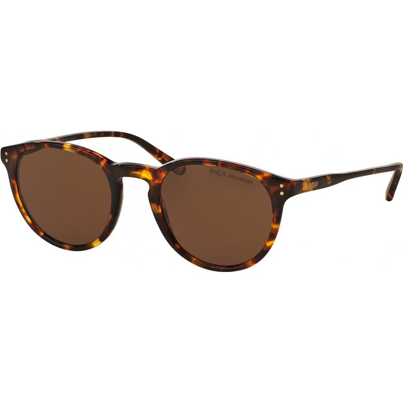 63b863d2cabb Polo Ralph Lauren PH4110 50 Classic Flair Shiny Antique Havana 513483  Polarized Sunglasses