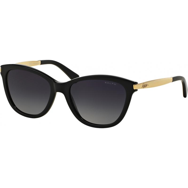 Ralph RA5201 Sonnenbrille Schwarz und Gold 1265T3 Polarisiert 54mm hPIUP
