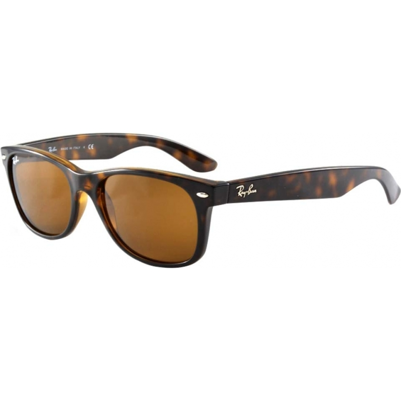 b3bdff989 RayBan RB2132 52 New Wayfarer Light Tortoiseshell 710-51 Sunglasses