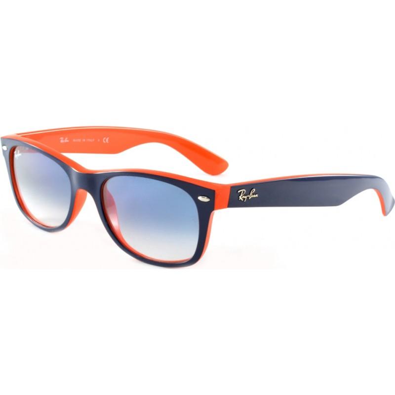 4207907209b2a ... promo code rayban rb2132 52 789 3f rb2132 52 new wayfarer top blue  orange aa05b 615a4