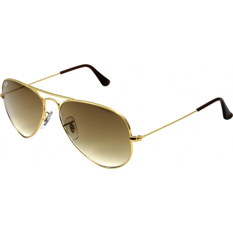 RayBan RB3025-58-001-51 RB3025 58 aviator grote metalen goud 001-51 zonnebril