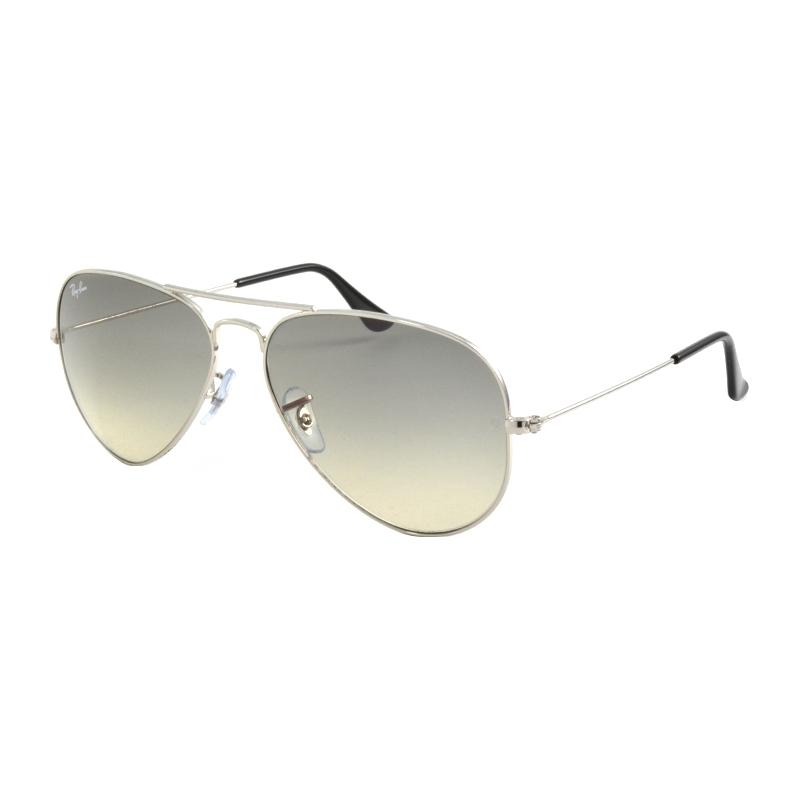 RayBan RB3025-58-003-32 RB3025 58 vliegenier grote metalen zilvergrijs 003-32 zonnebril