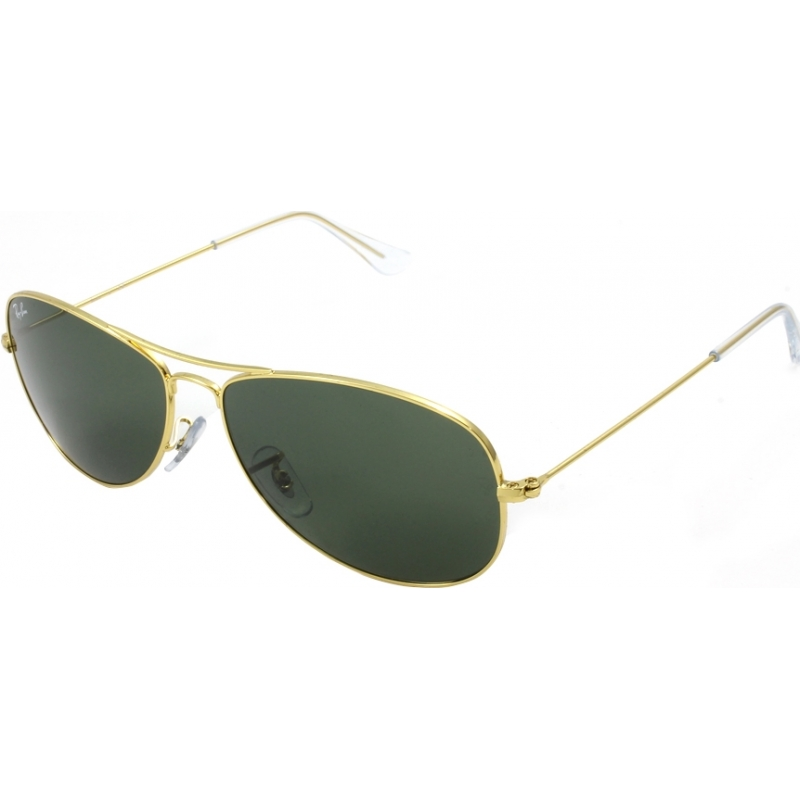 RayBan RB3362 59 Cockpit Gold Green 001 Sunglasses d81fd03184