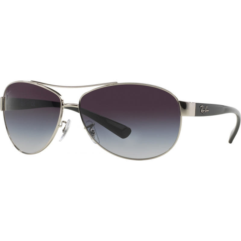 1e50124415 RayBan RB3386 63 Active Lifestyle Silver 003-8G Sunglasses