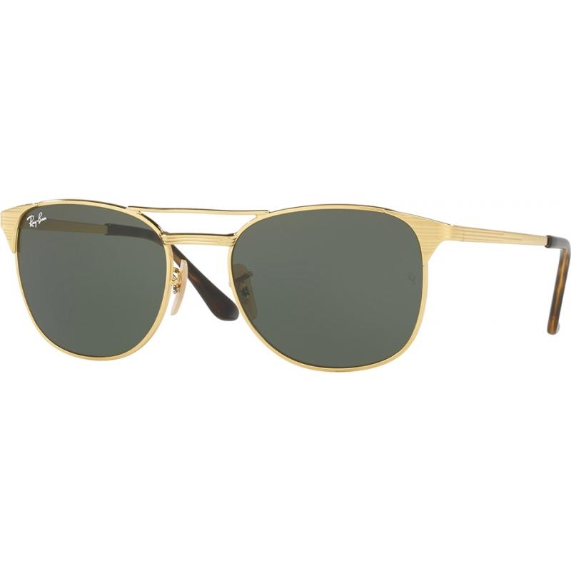 RayBan RB3429M-58-001 Rb3429m 58 iconen goud groen 001 zonnebril