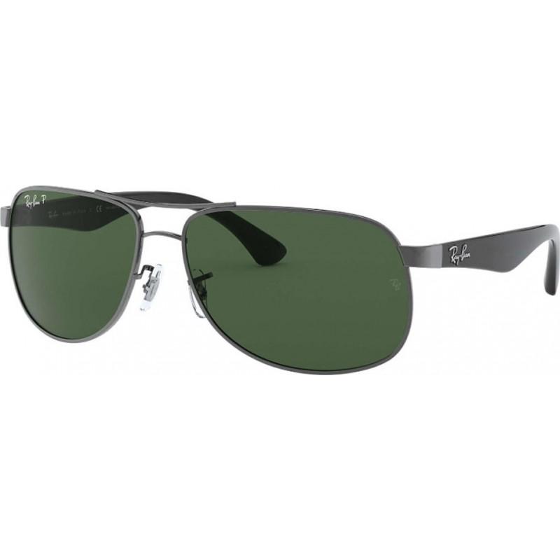 ce38907eaa8 RayBan RB3502 61 Highstreet Gunmetal 004-58 Polarized Sunglasses
