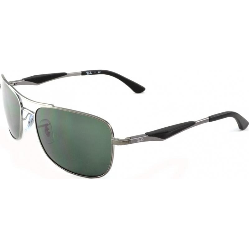 rayban shades 6gjn  RayBan RB3515-58-004-71 RB3515 58 Active Lifestyle Gunmetal 004-71
