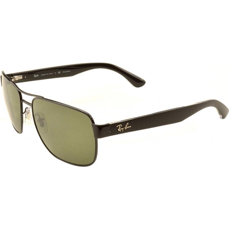 2f844c50d43 RayBan RB3530 58 Highstreet Gunmetal 002-9A Polarized Sunglasses