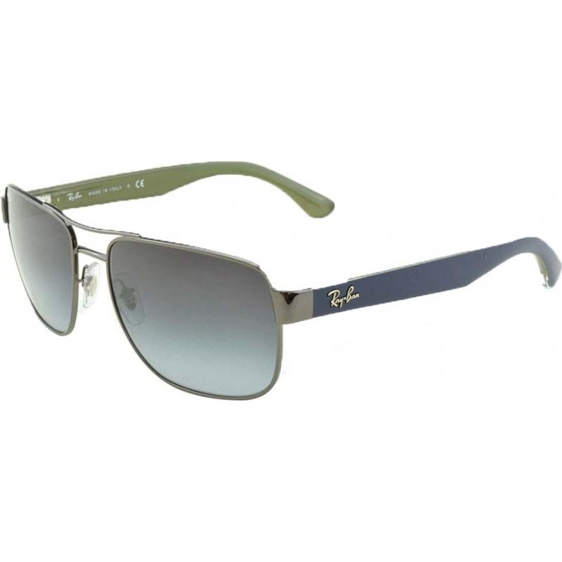 7eaad11a20a RayBan RB3530 58 Highstreet Gunmetal 004-8G Gradient Sunglasses