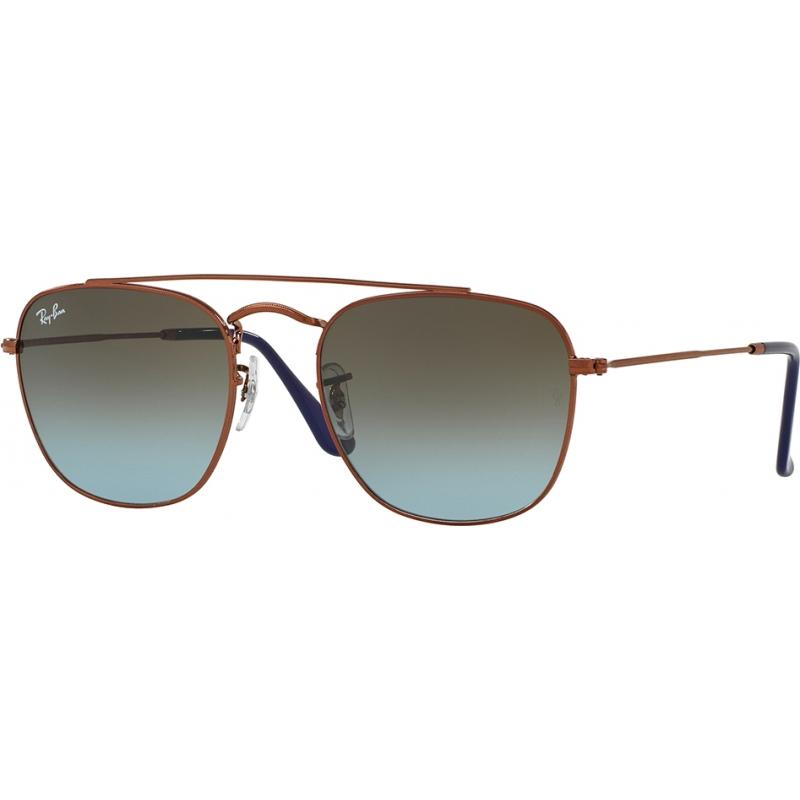 76915ff0e2c46e RayBan RB3557 54 Icons Dark Bronze 900396 Sunglasses