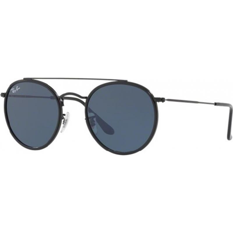 RayBan RB3647N-51-002-R5 Rb3647n 51 002 r5 kulaté sluneční brýle s dvojitým můstkem