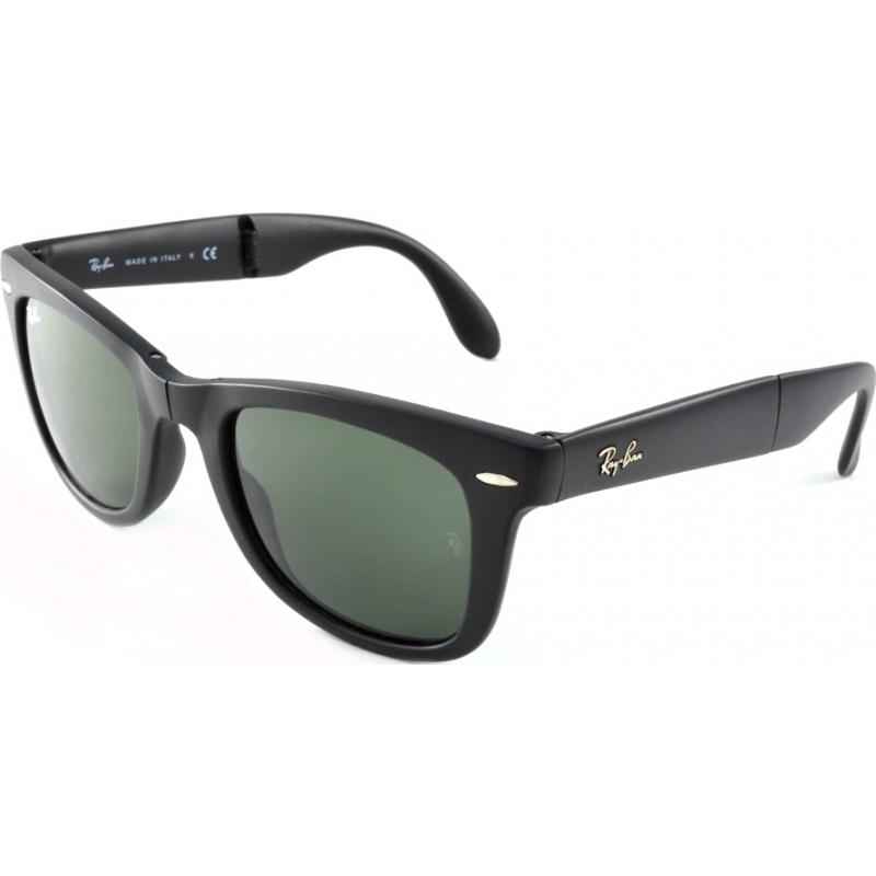 RayBan RB4105-50-601S Rb4105 50 skládací Poutník matná černá 601S sluneční brýle