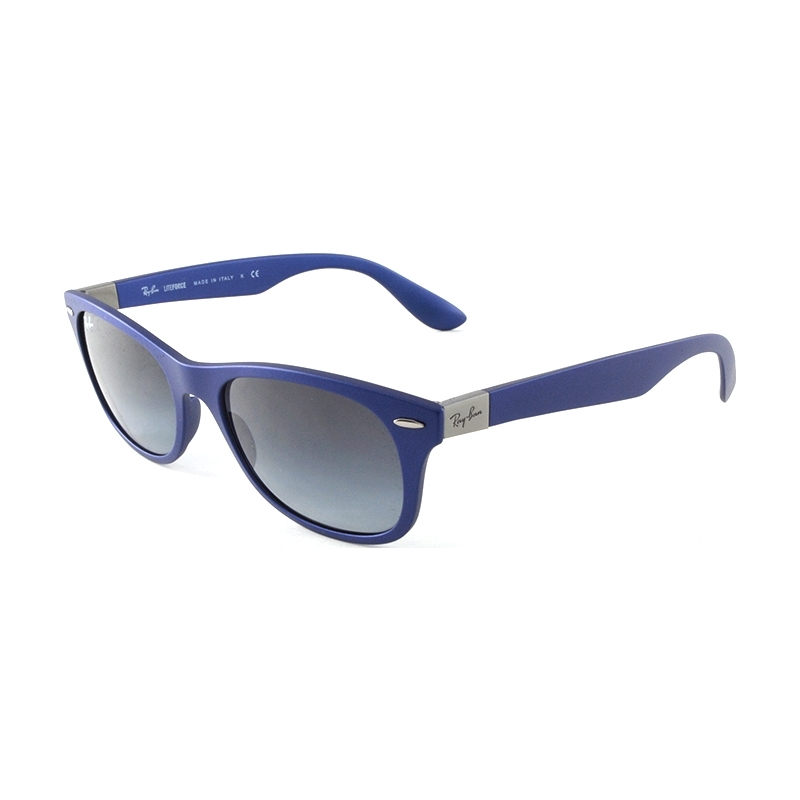mens ray ban glasses a5hm  RayBan RB4207-52-60158G RB4207 52 Tech Liteforce Matte Blue 60158G  Sunglasses