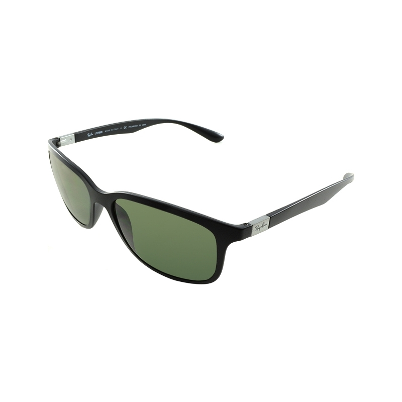 eeebbcd670f RayBan RB4215 57 Tech Liteforce Matte Black 601S9A Polarized Sunglasses