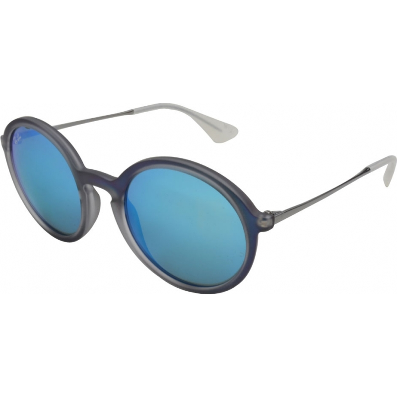 9cfc7add655 RayBan RB4222 50 Youngster Shot Blue Rubber 617055 Sunglasses