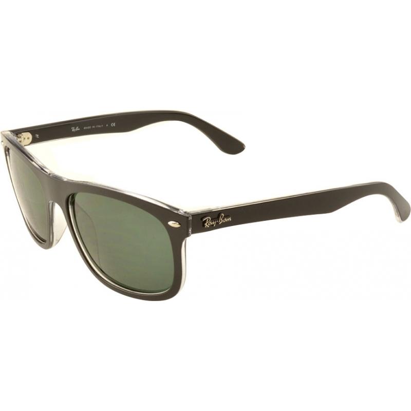 5e72c2e3950 RayBan RB4226 56 Highstreet Top Matt Black on Transparent 605271 Sunglasses