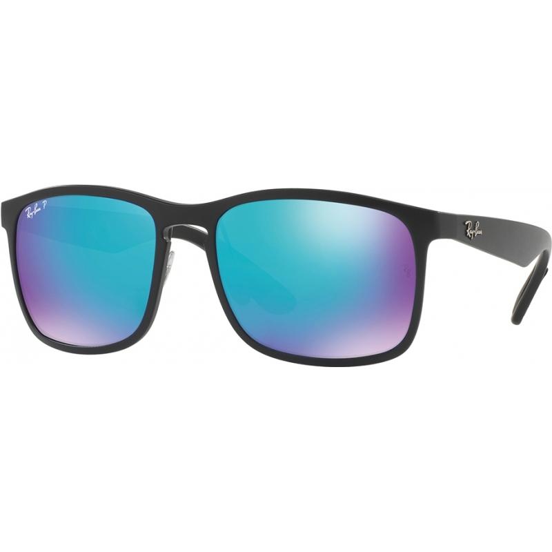RayBan RB4264-58-601SA1 Rb4264 58 tech chromance matná černá 601sa1 modrý záblesk polarizované sluneční brýle