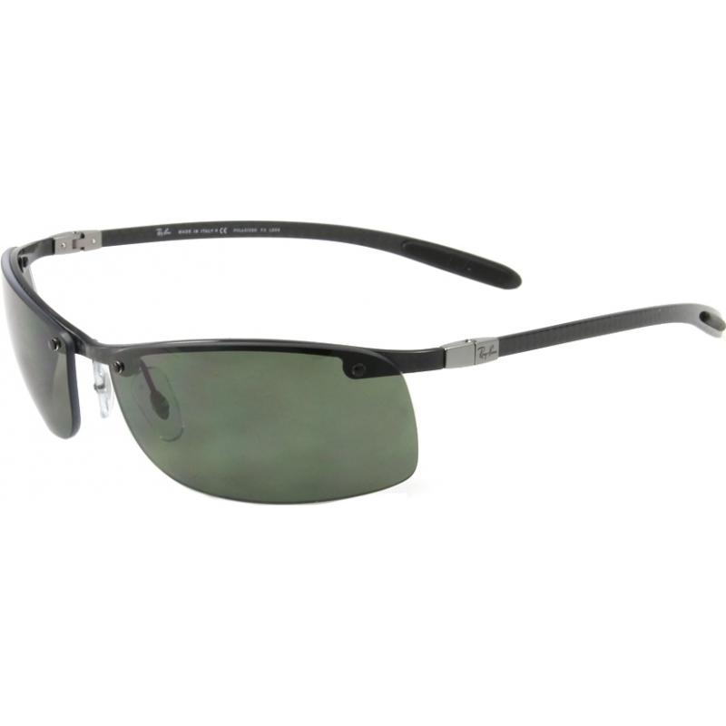 ec33bb00fe4 RayBan RB8305 63 Tech Carbon Fibre Black 082-9A Polarized Sunglasses