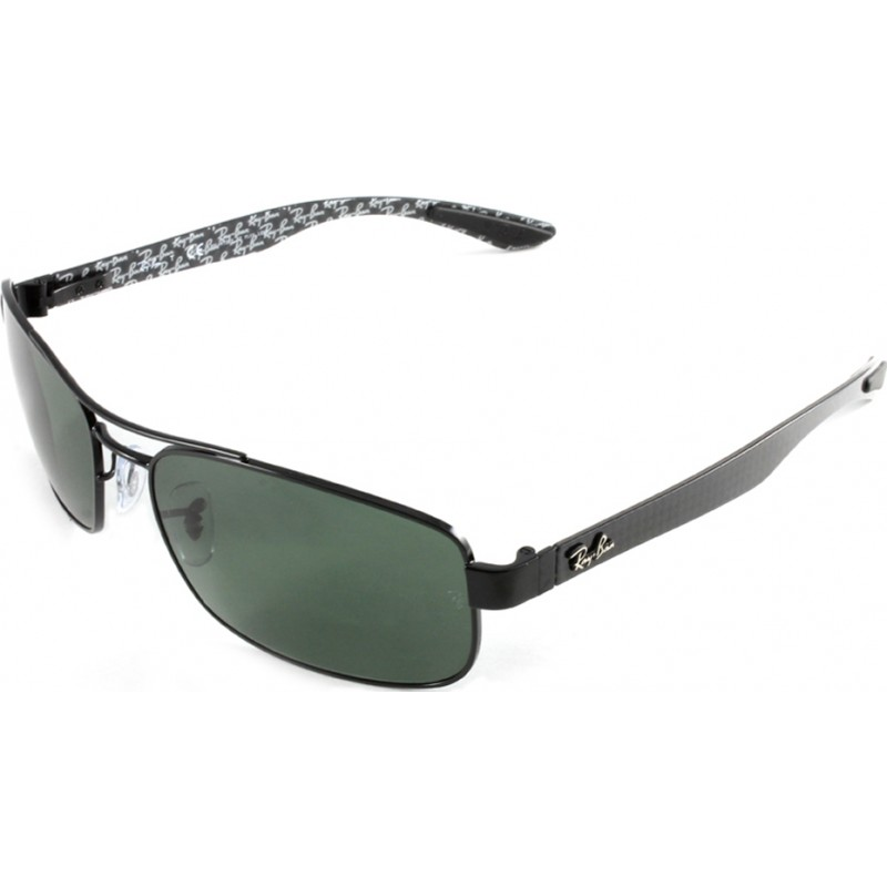 84b92596ce62b RayBan RB8316 62 Tech Carbon Fibre Black Green 002-N5 Polarized Sunglasses