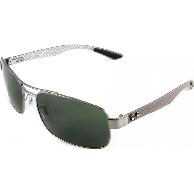 b147a676671 RayBan RB8316 62 Tech Carbon Fibre Gunmetal Green 004 Sunglasses