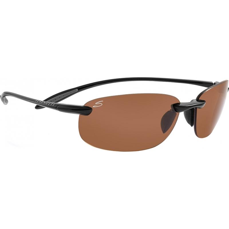 Serengeti 7317 Nuvino glänzend schwarz polarisierten phd Fahrer Sonnenbrille