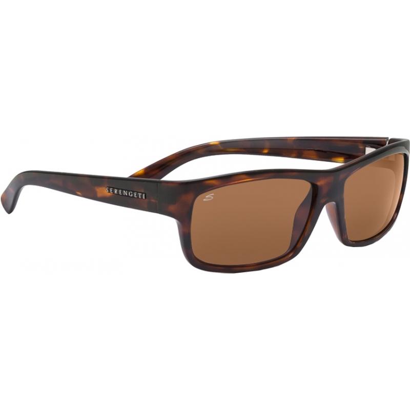 Serengeti 7511 Martino Dark Tortoiseshell Polarized Drivers Sunglasses