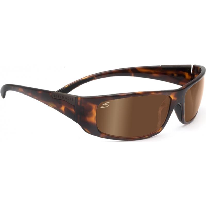 Serengeti 7703 Fasano dunkle Schildpatt polarisierte phd Treiber Gold Sonnenbrille