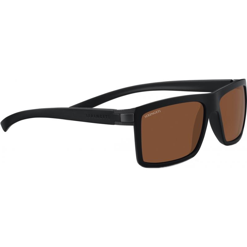Serengeti 7930 Brera geschliffen schwarz polarisierten Sonnenbrillen Treiber