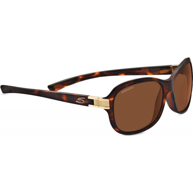 Serengeti 7939 Isola Satin Tortoiseshell Polarized Drivers Sunglasses