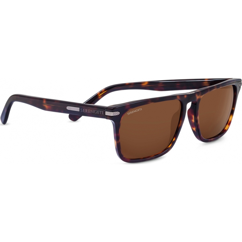 Serengeti 8324 Carlo Dark Havana Drivers Sunglasses