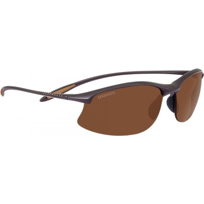 Serengeti 8450 Maestrale geschliffen dunkelbraun polarisiert phd Fahrer Sonnenbrille