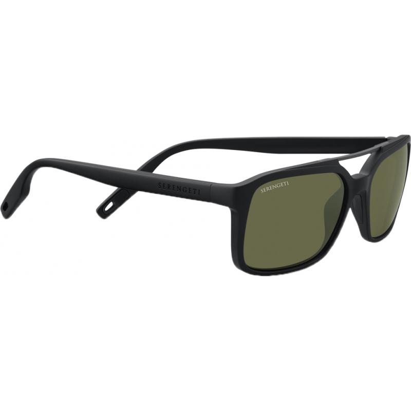 6954493e97 Serengeti 8621 8621 Renzo Black Sunglasses